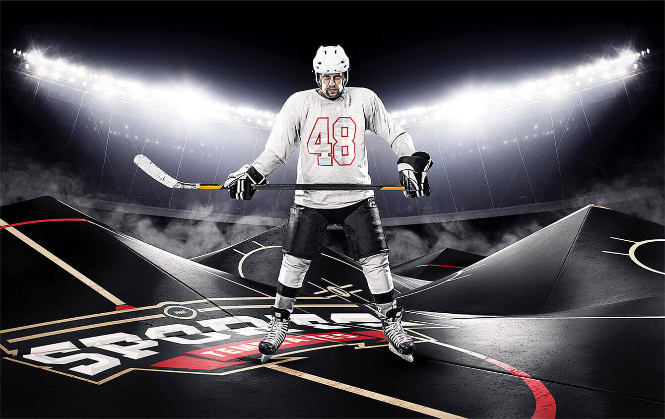 Layered Photoshop Sports Templates