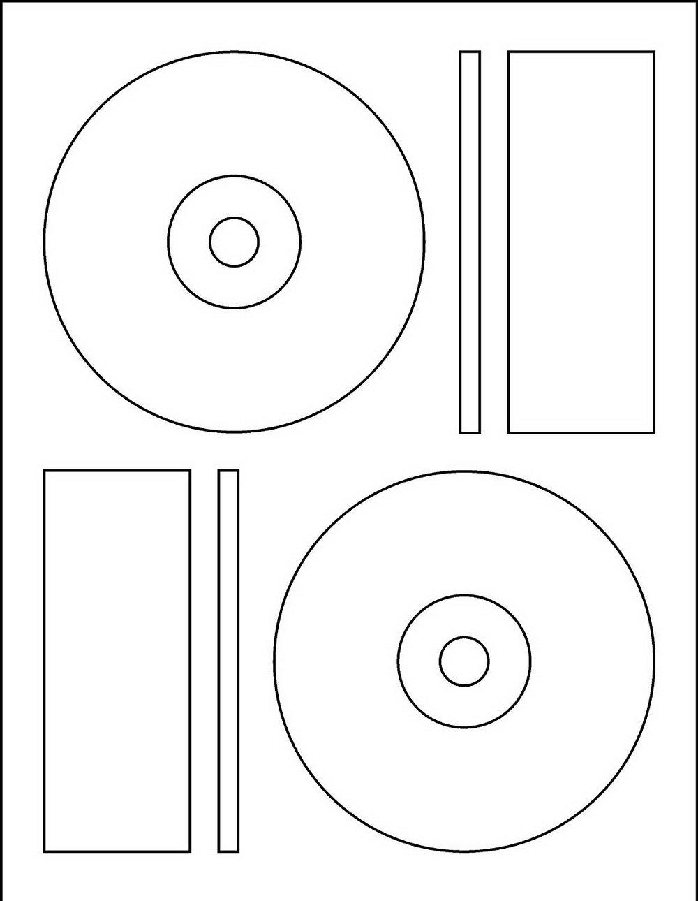 Memorex Dvd Label Template