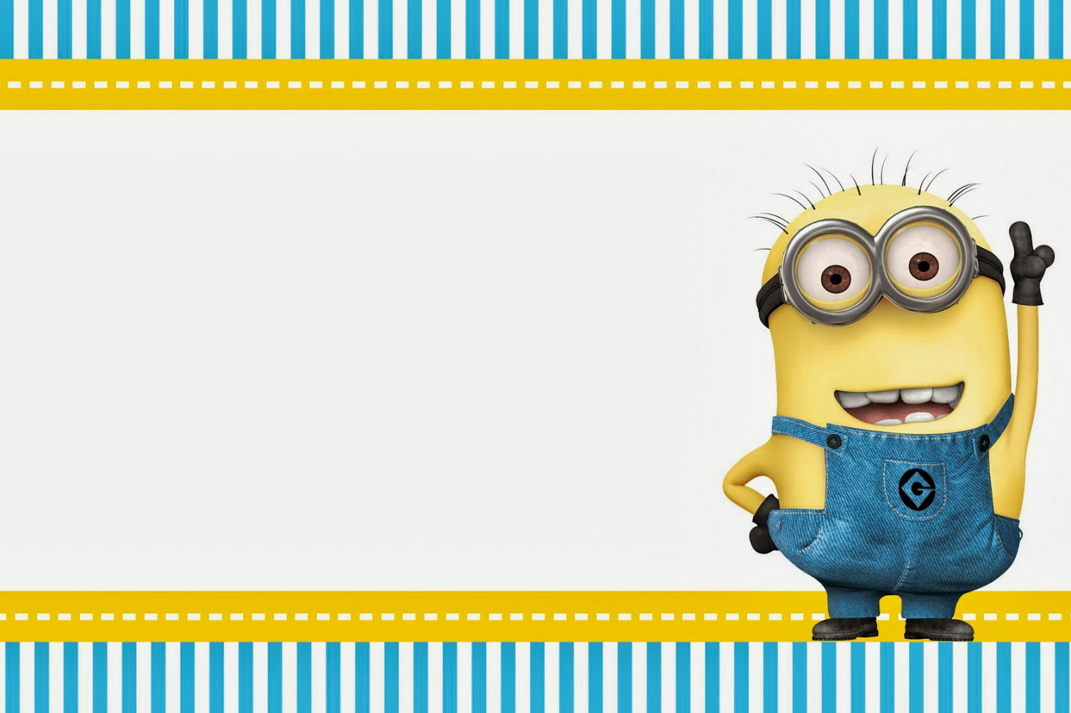 Minion Birthday Invitations Templates Free