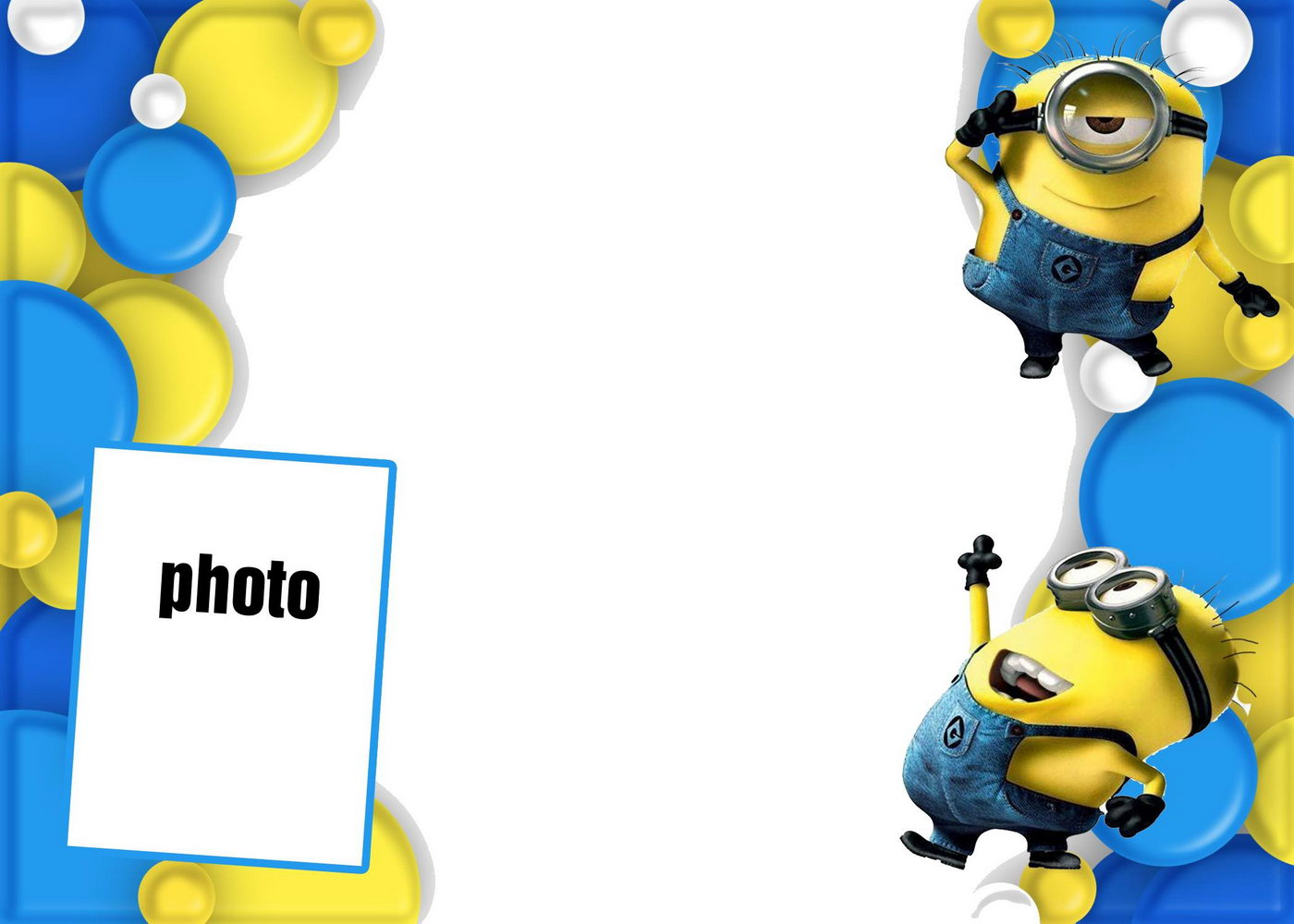 Minion Invitations Template Free