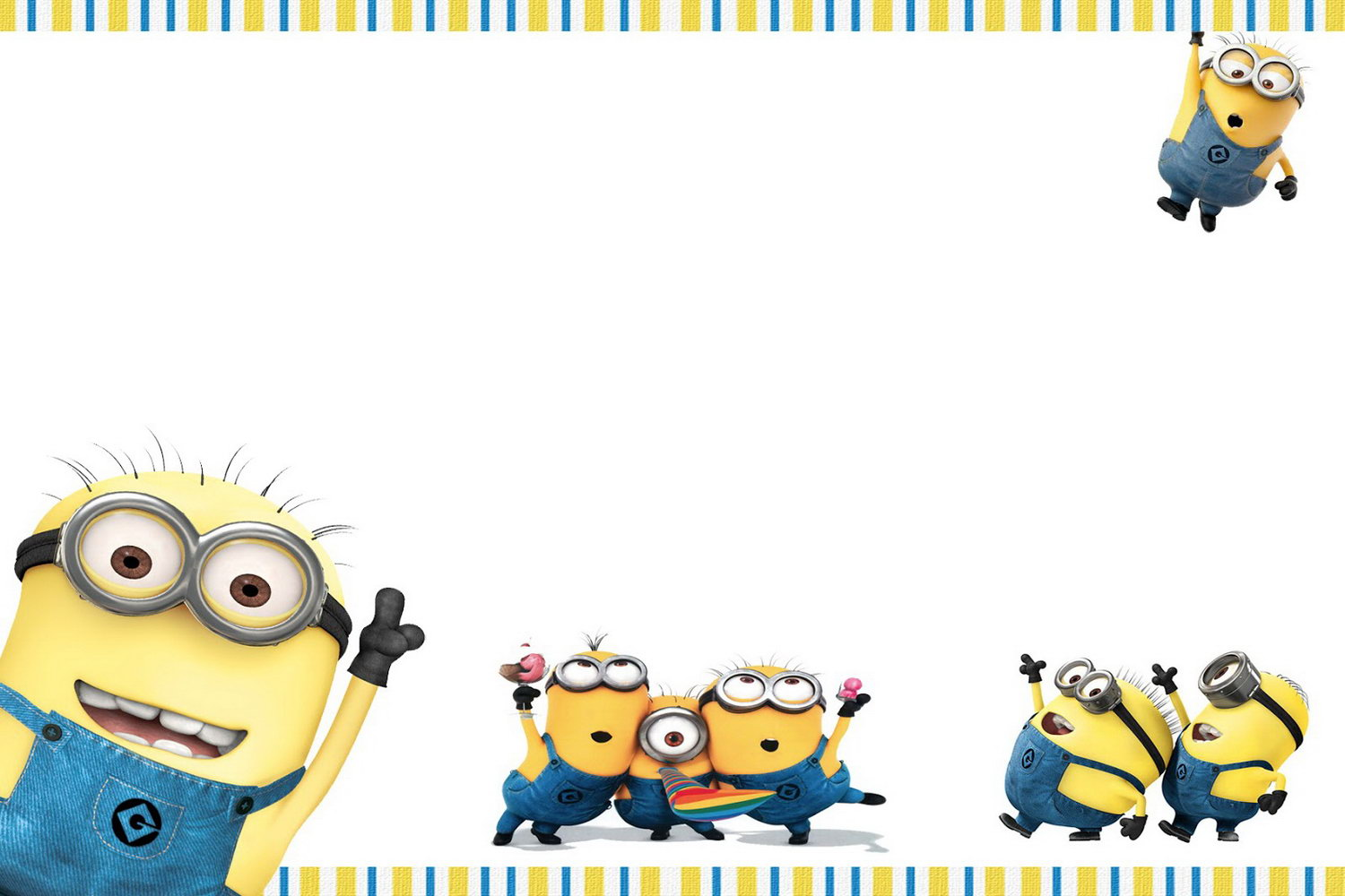 Minion Invitations Template
