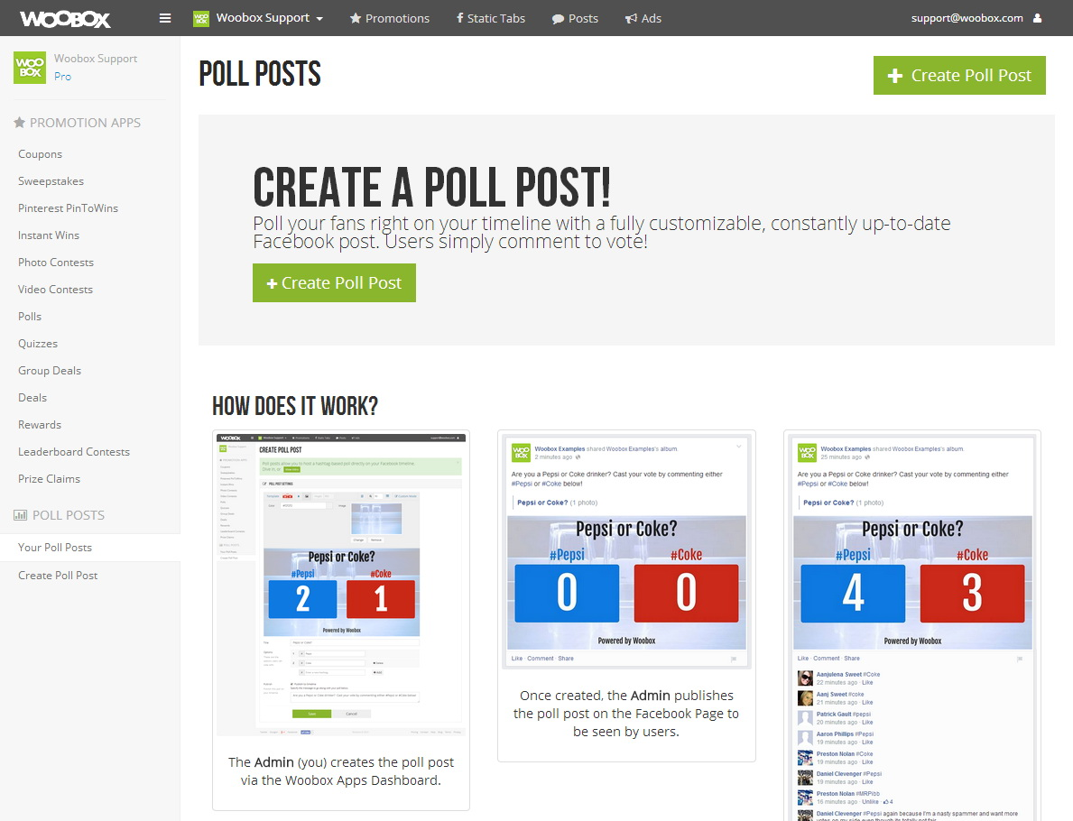 Polling Website Template