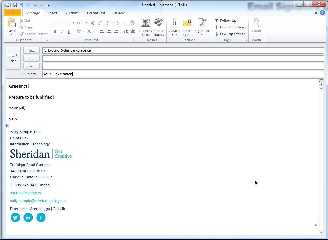 Professional Email Signature Templates