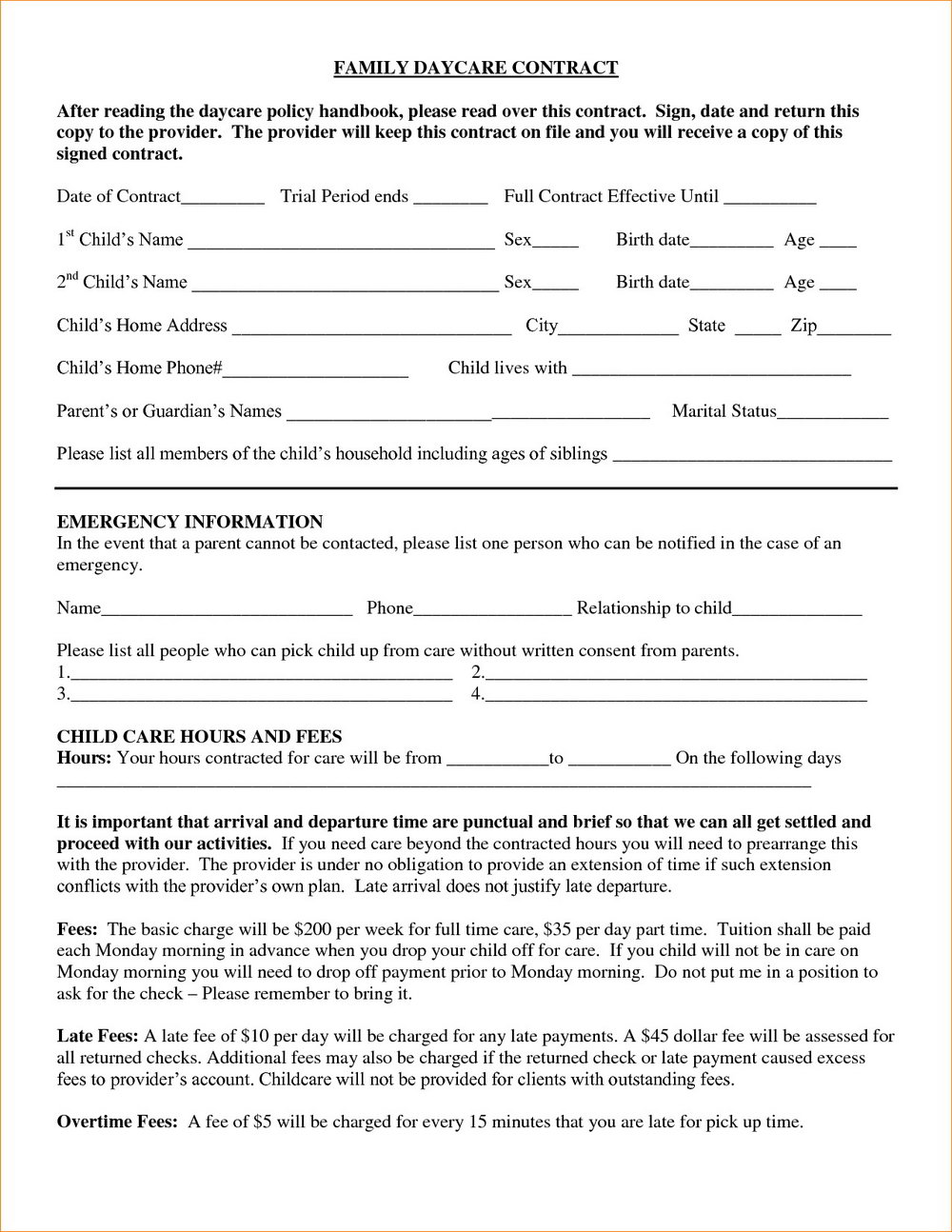 Roofing Contract Agreement Template
