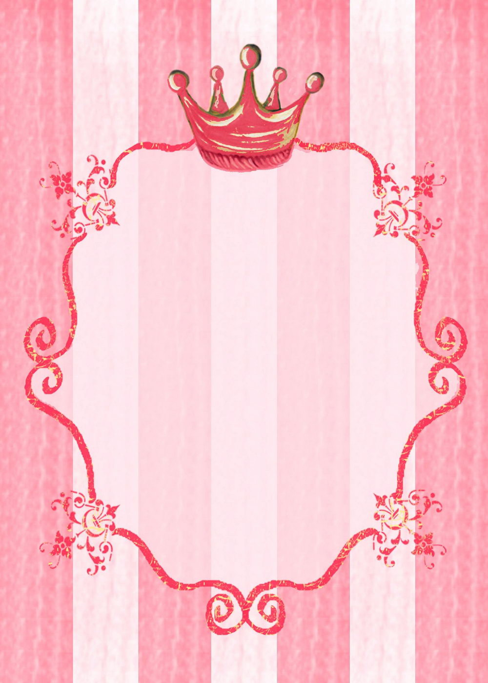 Royal Princess Invitation Template