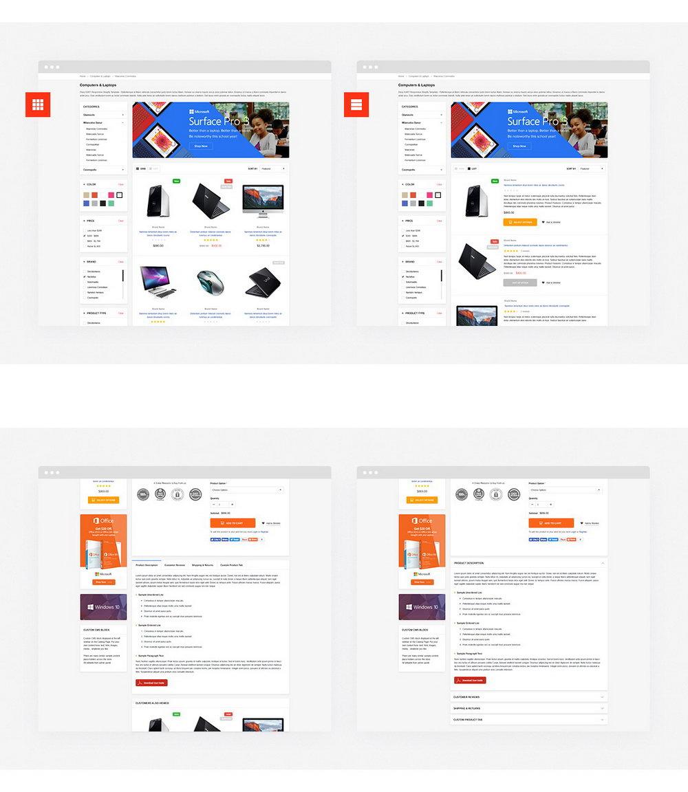 Shopify Templates Responsive