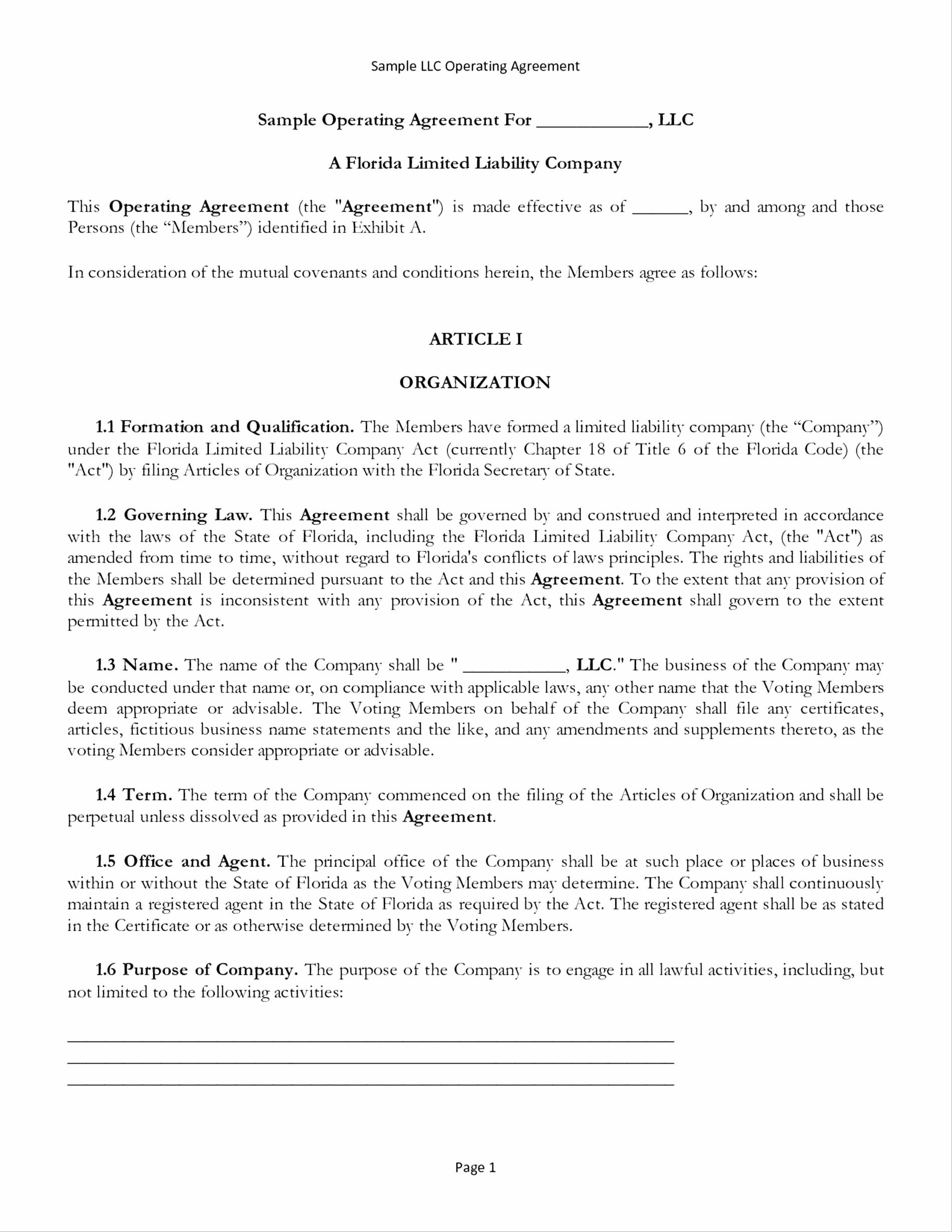 Software Subscription Agreement Template