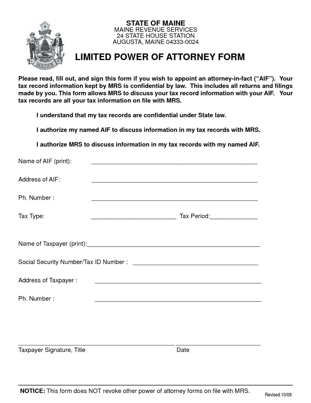 Special Power Of Attorney Template Ph