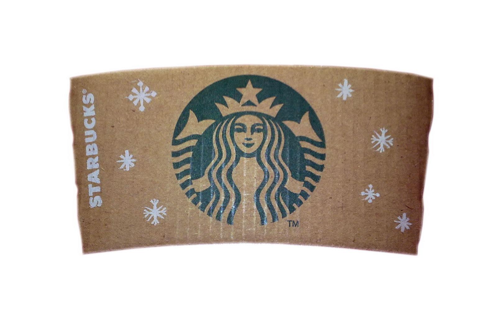 Starbucks Coffee Sleeve Template