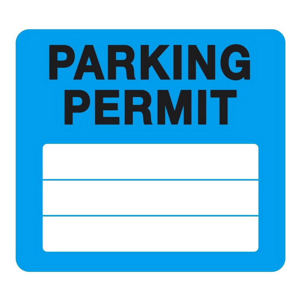 Temporary Parking Permit Template