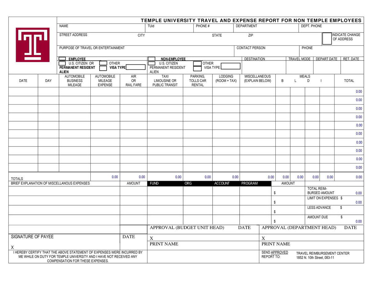 Total Compensation Statement Template Free