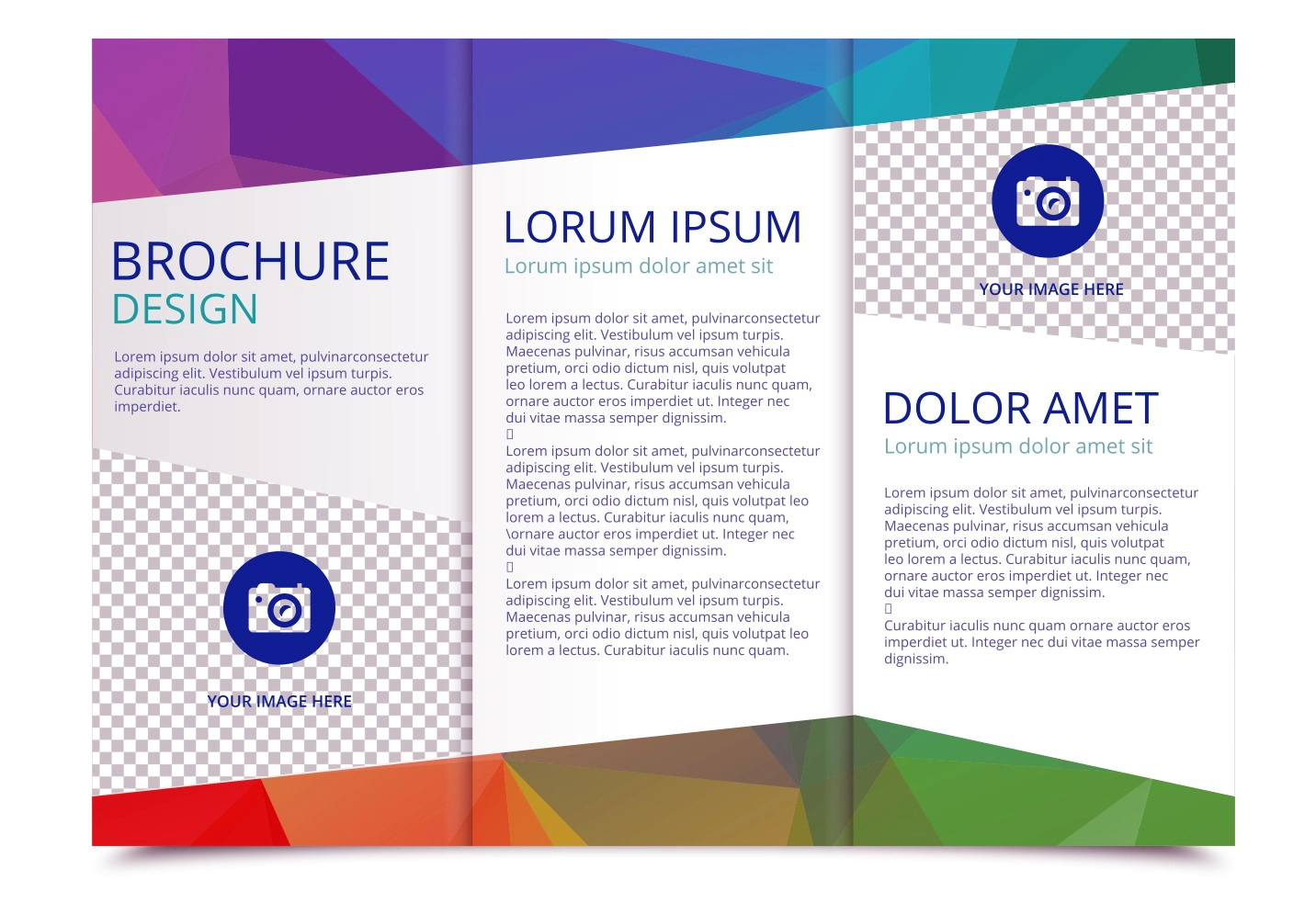 Tri Fold Brochure Templates Free Corel Draw