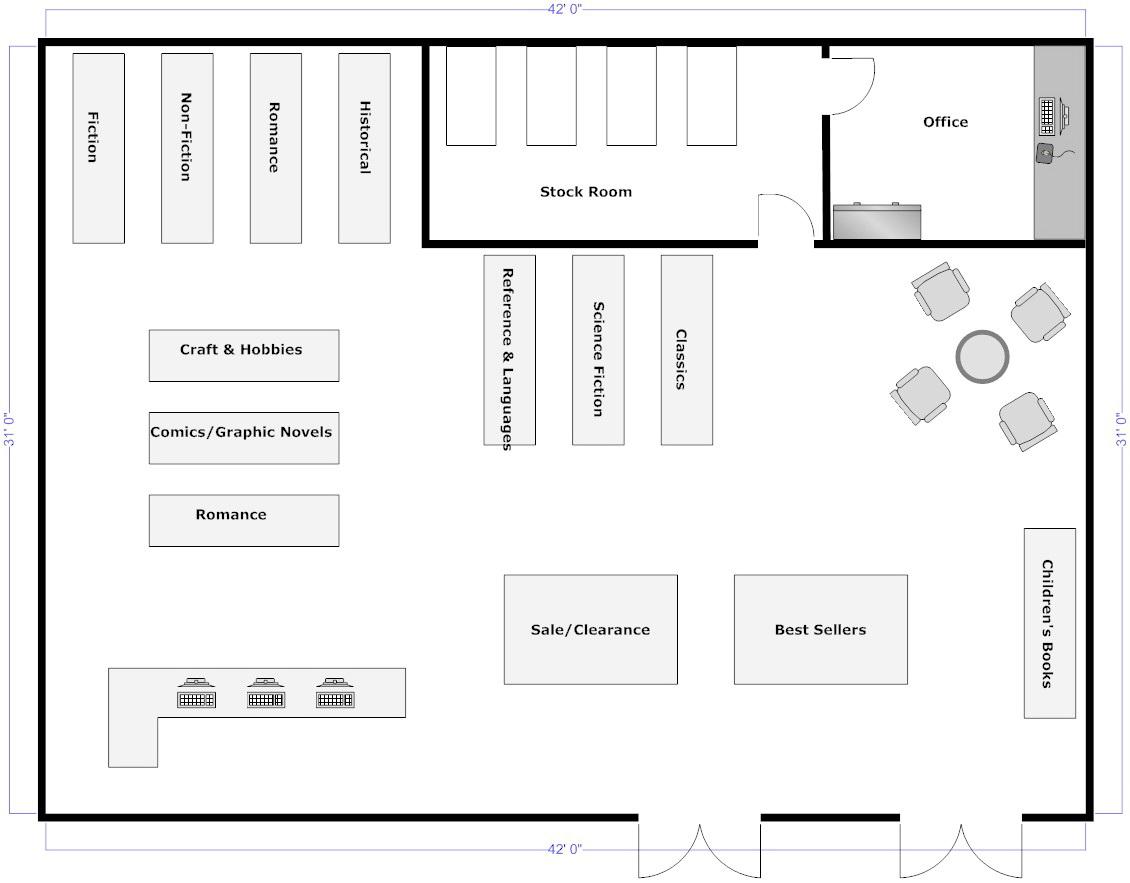Warehouse Floor Plan Template