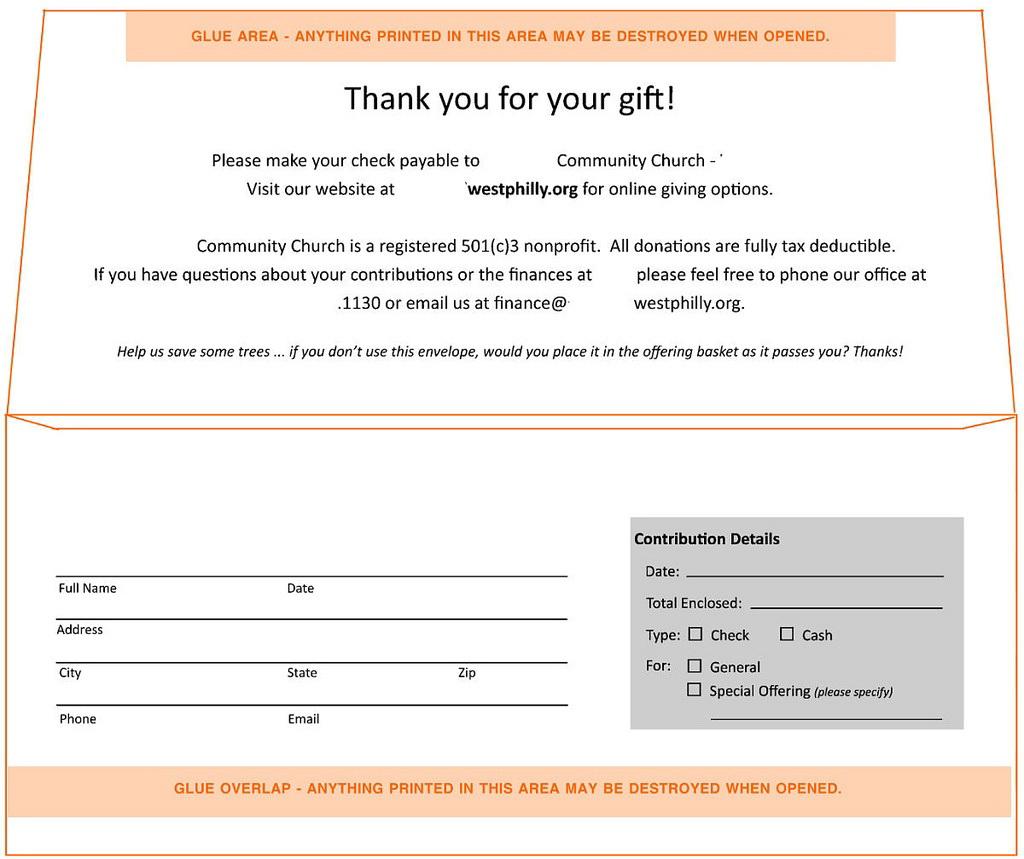 9 Remittance Envelope Template Indesign