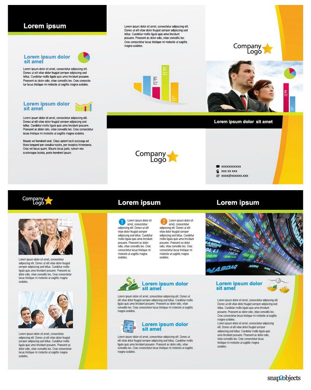 Ai Brochure Templates Free Download
