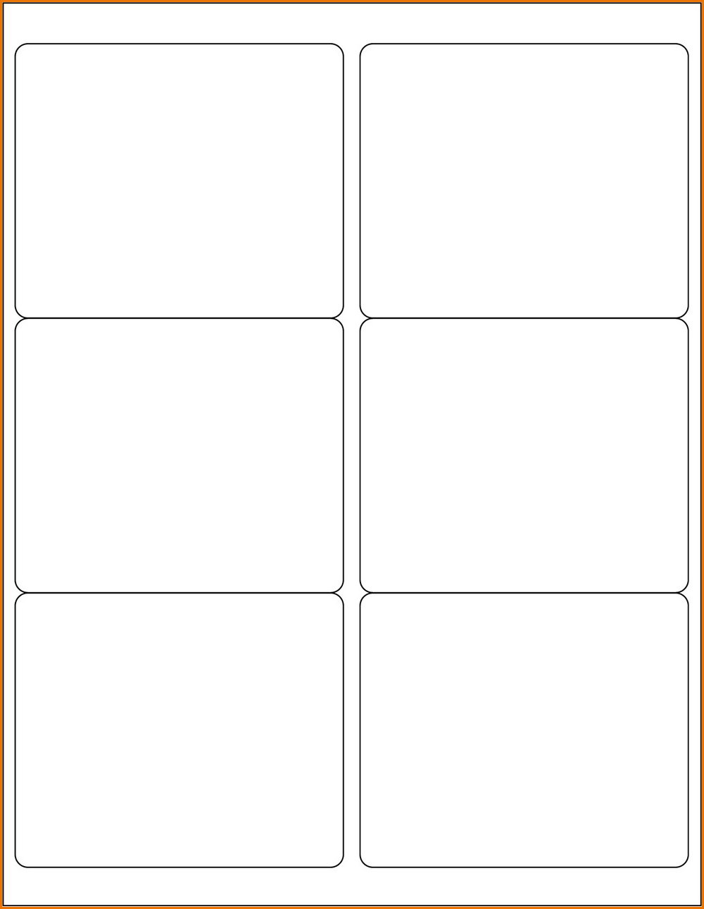Avery Labels Template 5163