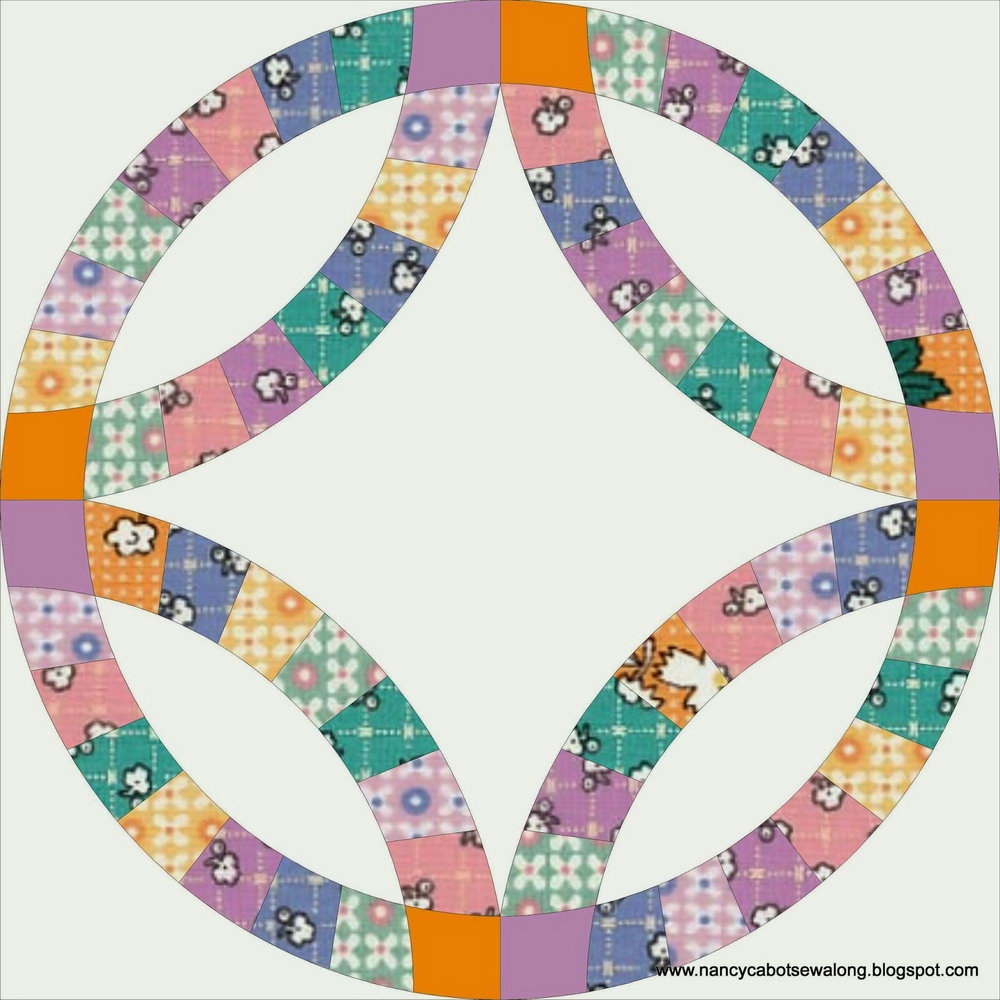 Double Wedding Ring Quilt Pattern Templates