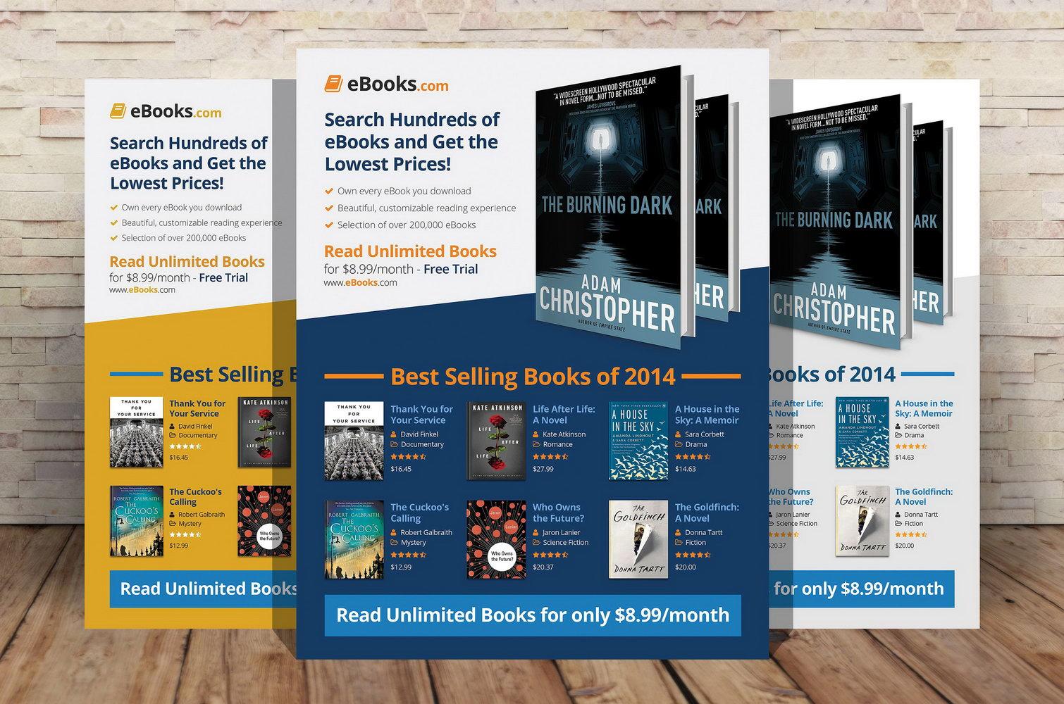 Ebook Cookbook Template Free
