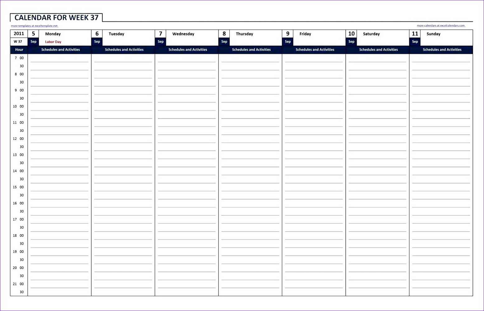 Excel 24 Hour Shift Schedule Template