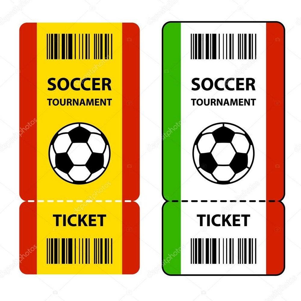 Football Ticket Invitation Template Free