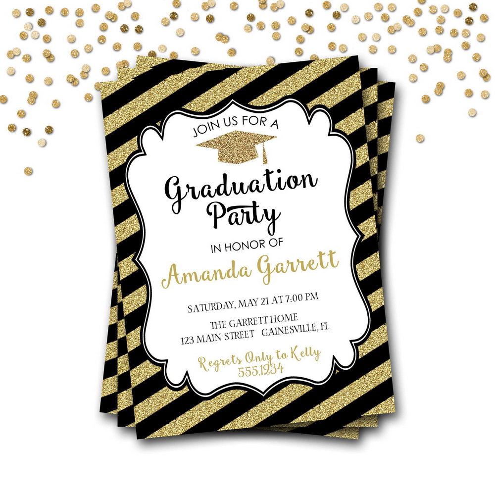 Free Graduation Announcements Templates Downloads