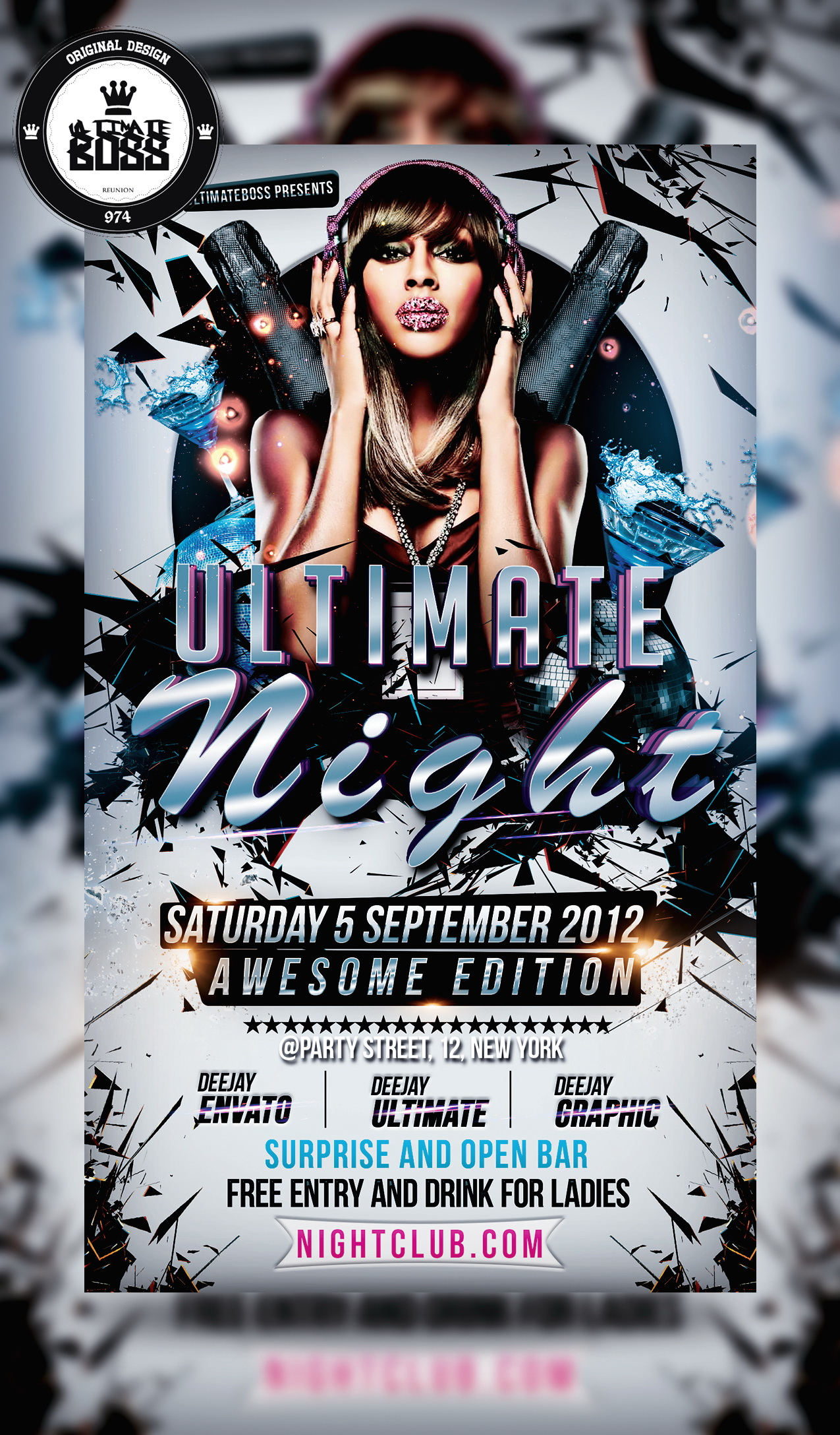 Free Nightclub Flyer Templates Download