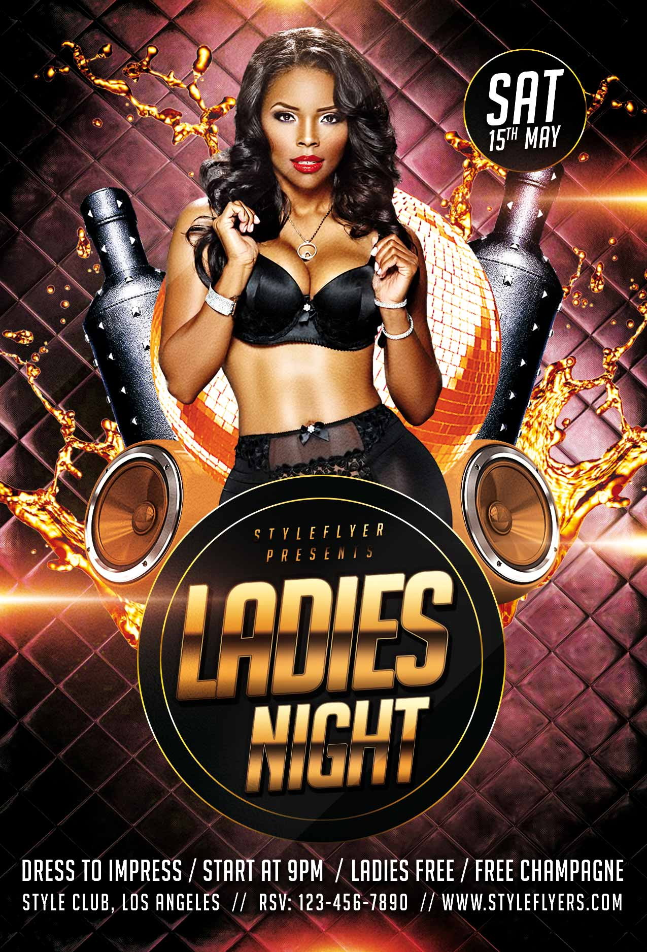 Free Nightclub Flyer Templates Psd