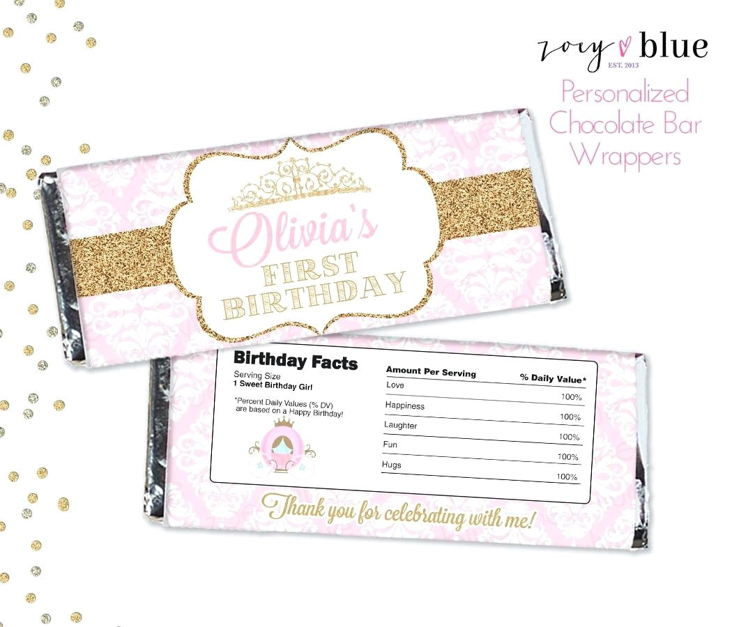 Free Printable Chocolate Wrapper Template