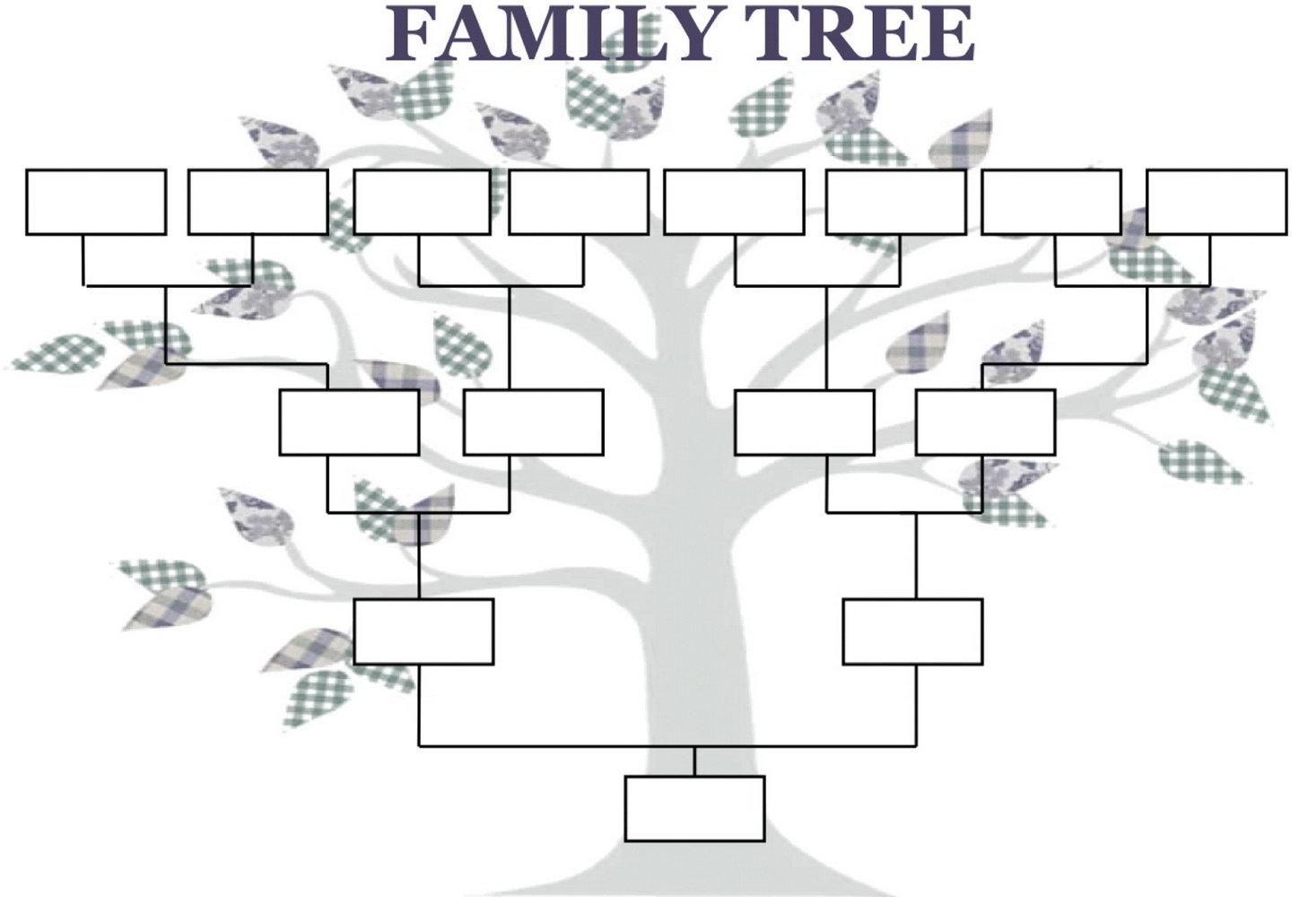 Genealogy Tree Templates