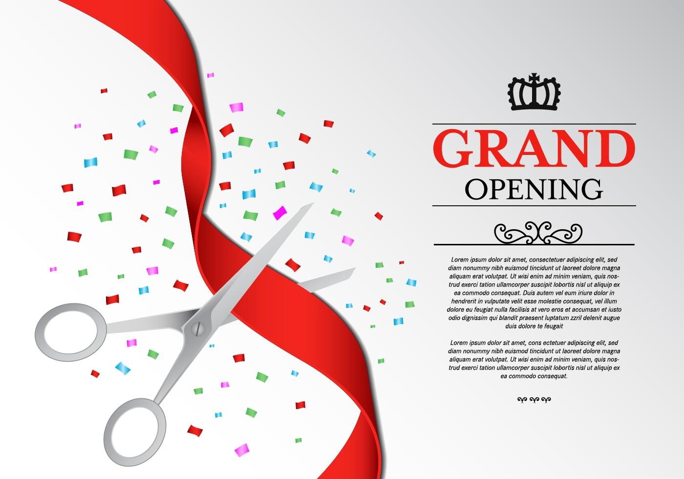 Grand Opening Invitation Template
