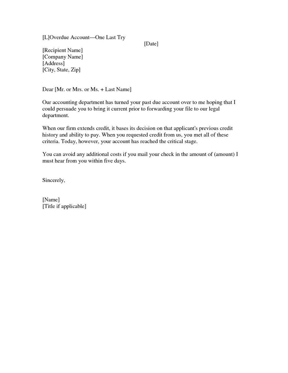 Invoice Reminder Email Template