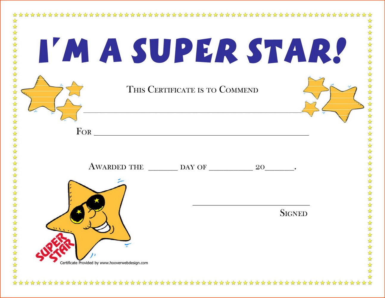 Kid Award Certificates Templates Free