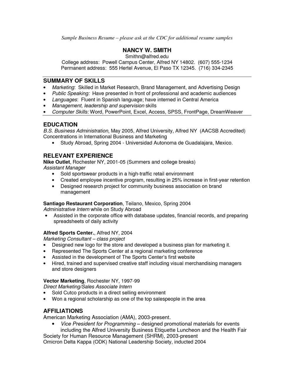 Merrill Lynch Business Plan Template