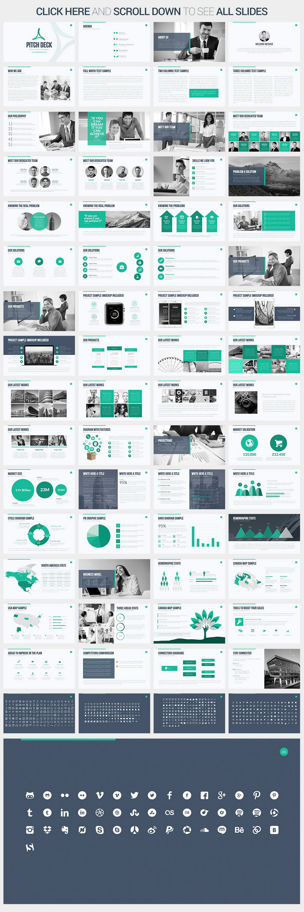 Powerpoint Pitch Deck Template Free Download