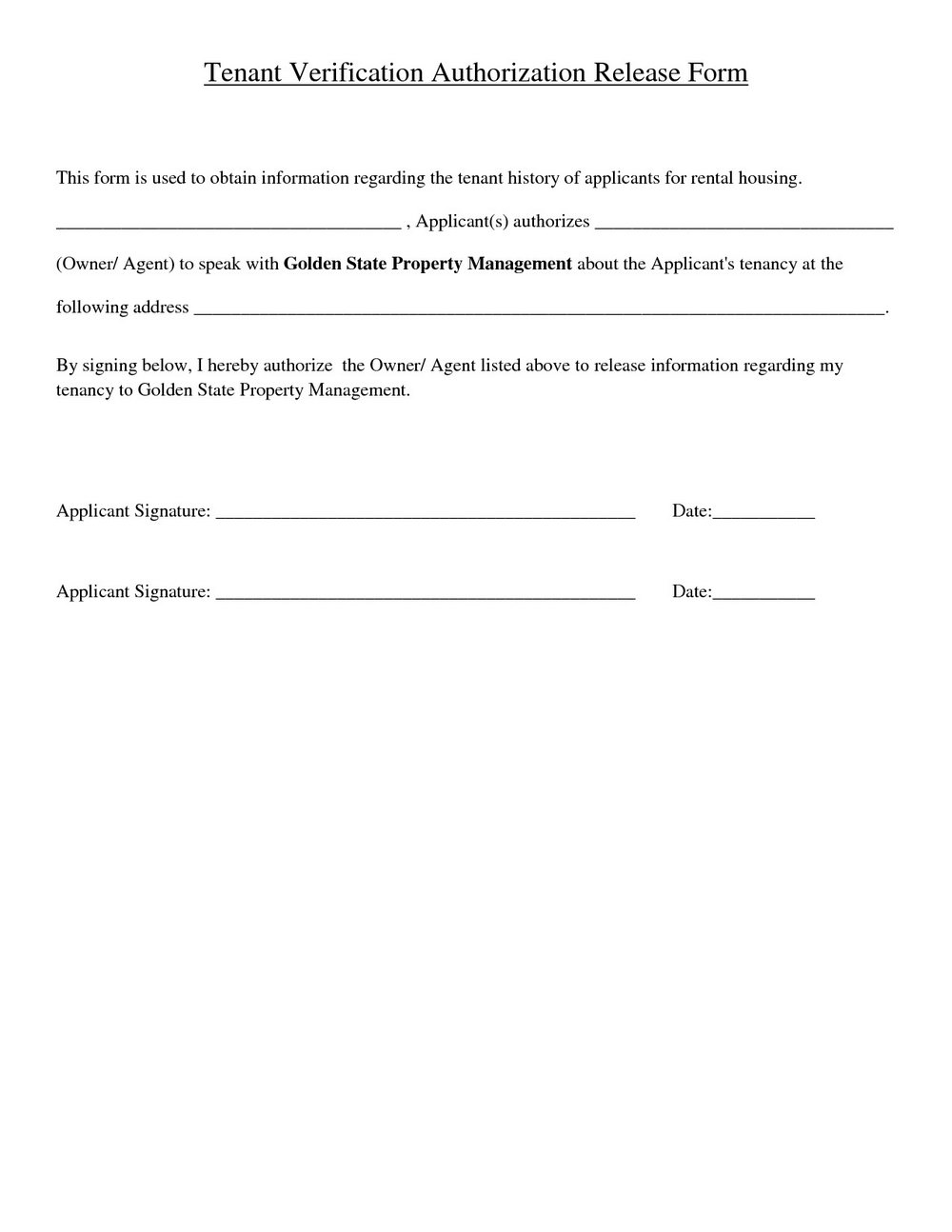 Property Damage Waiver Template