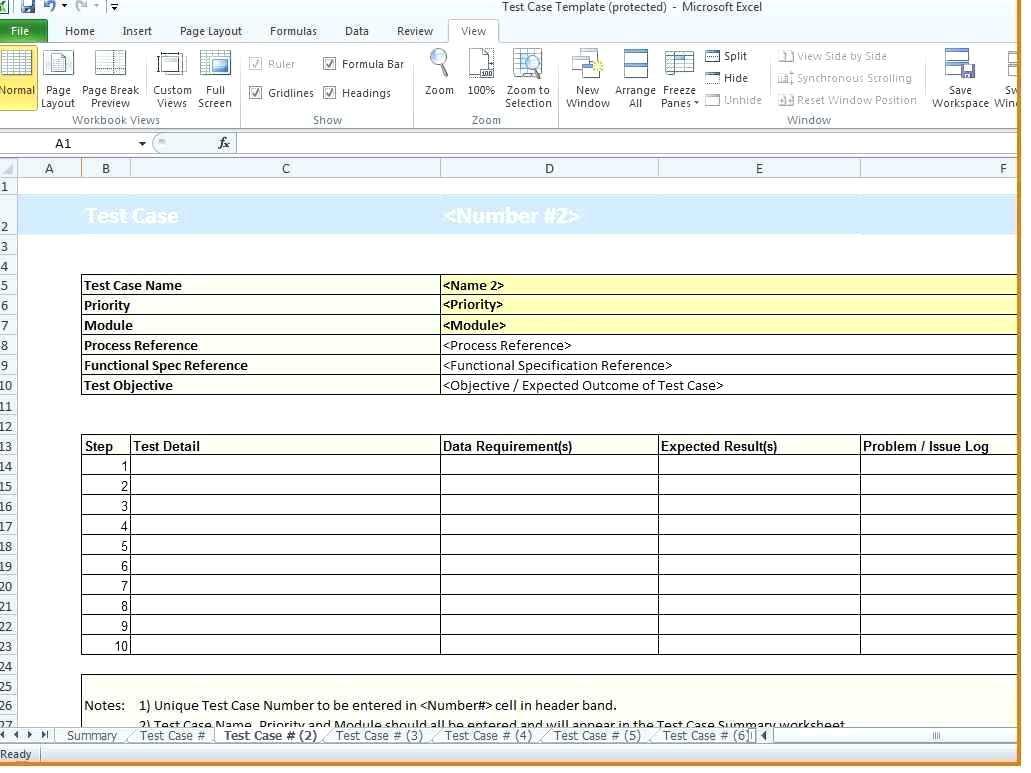 Qa Testing Report Template