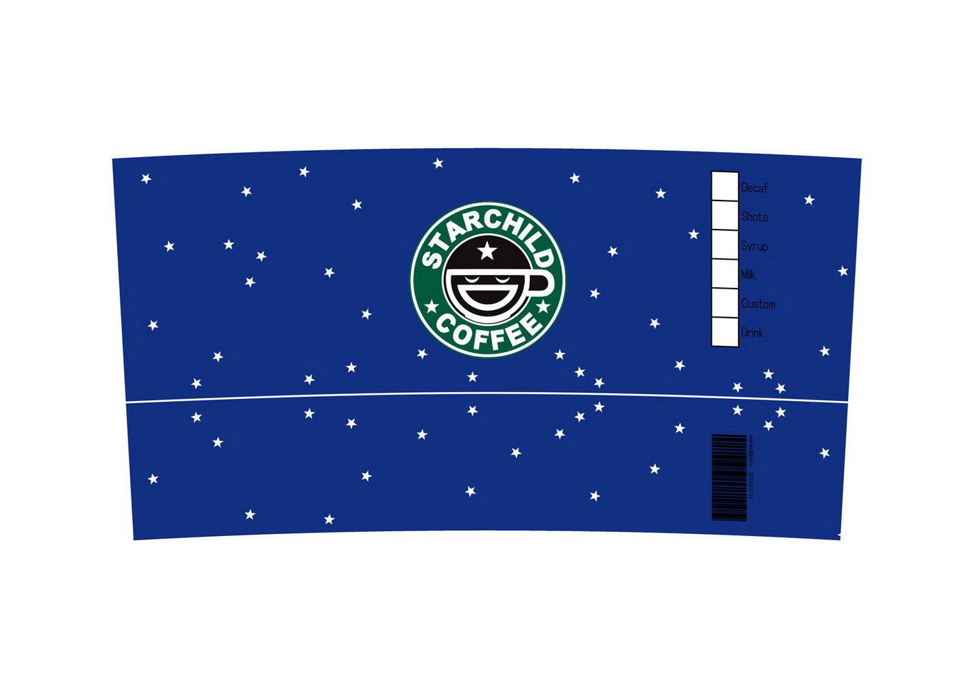 Starbucks Customizable Tumbler Template