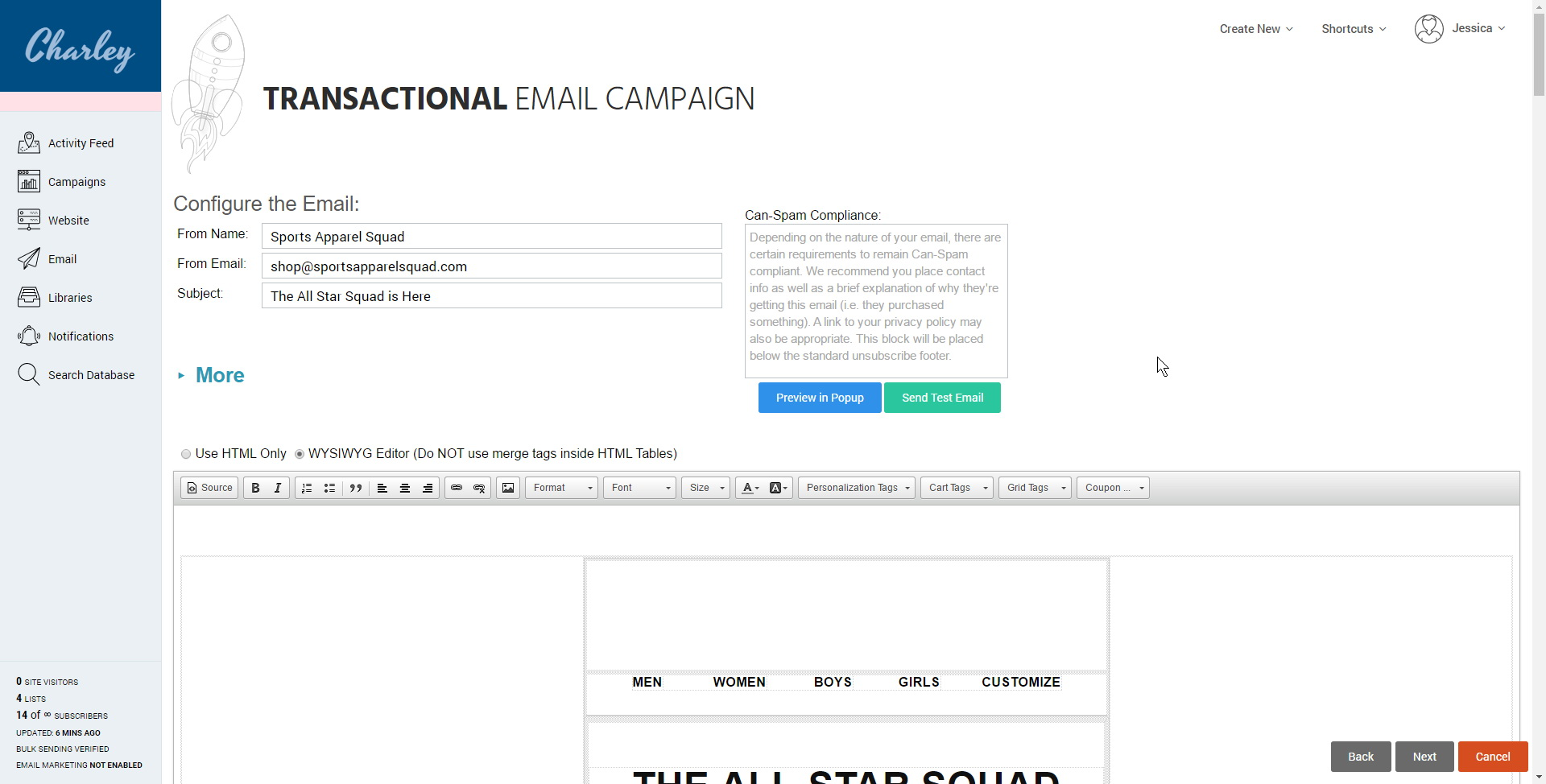 Transactional Email Templates Free