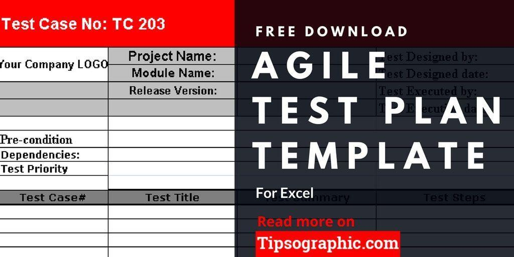 Agile Scrum Test Plan Template