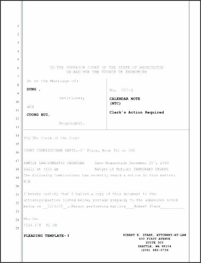 Apple Pages Legal Pleading Paper Template