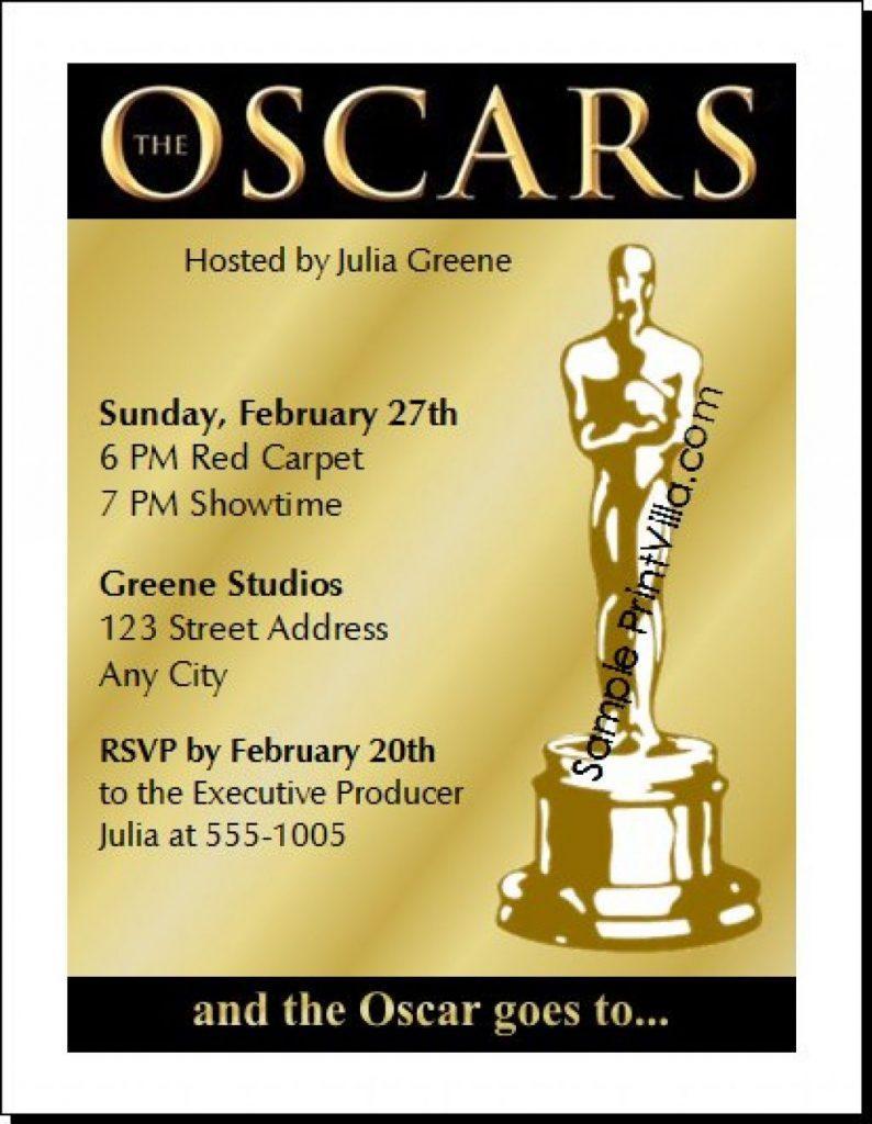Award Invitation Template Free