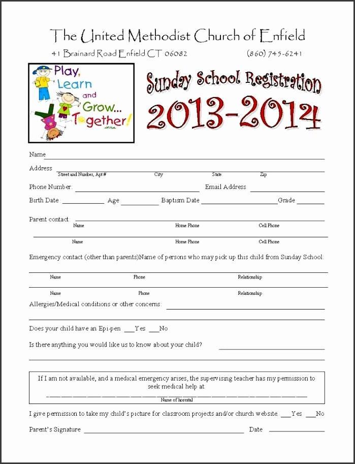 Basketball Camp Registration Form Template Word