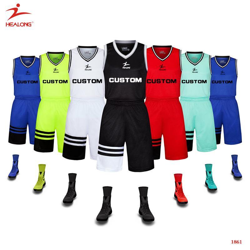 Basketball Uniform Design Template