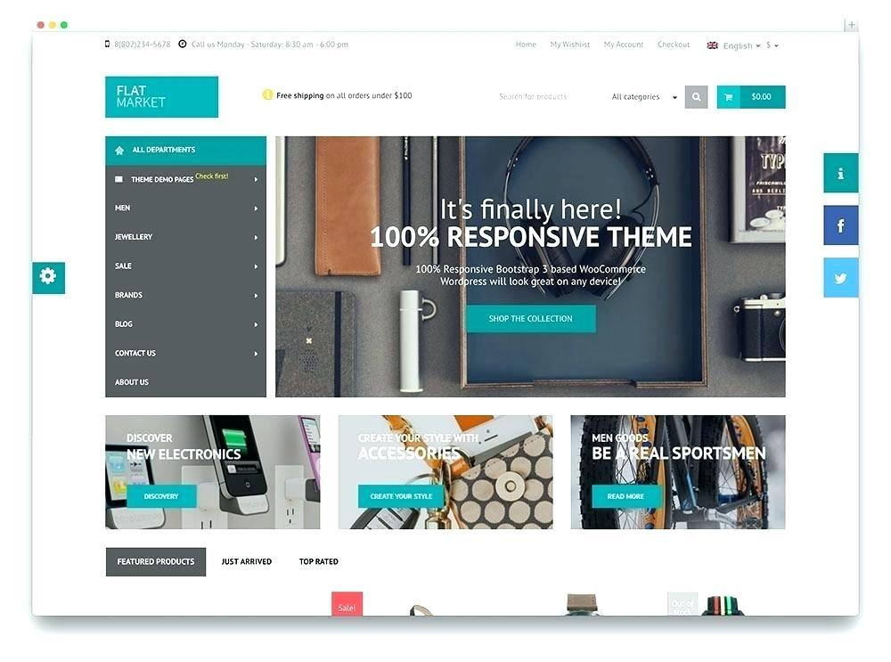 Bootstrap 3 Shopping Cart Template Free Download