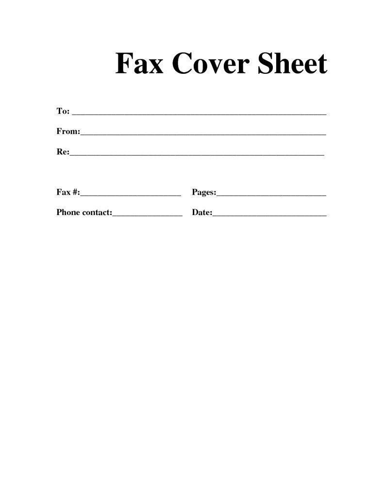 Business Plan Cover Sheet Template