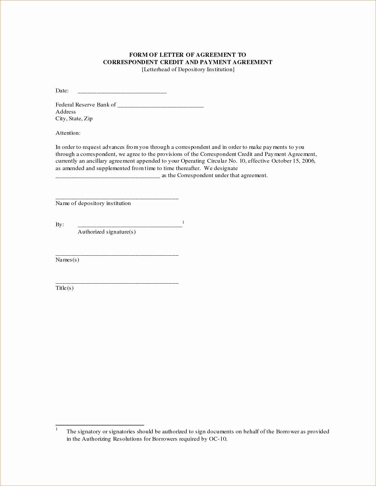 Car Accident Settlement Agreement Letter