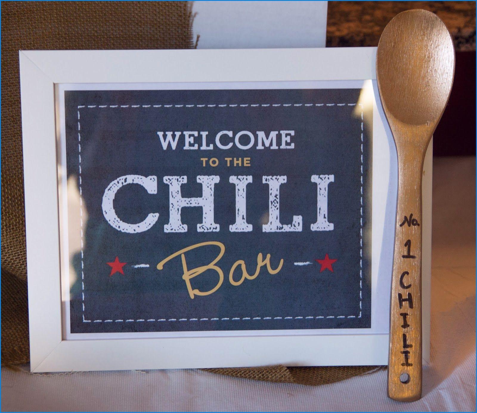 Chili Cook Off Invitation Template Free