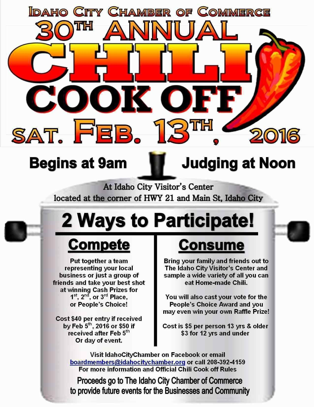 Chili Cook Off Poster Template Free