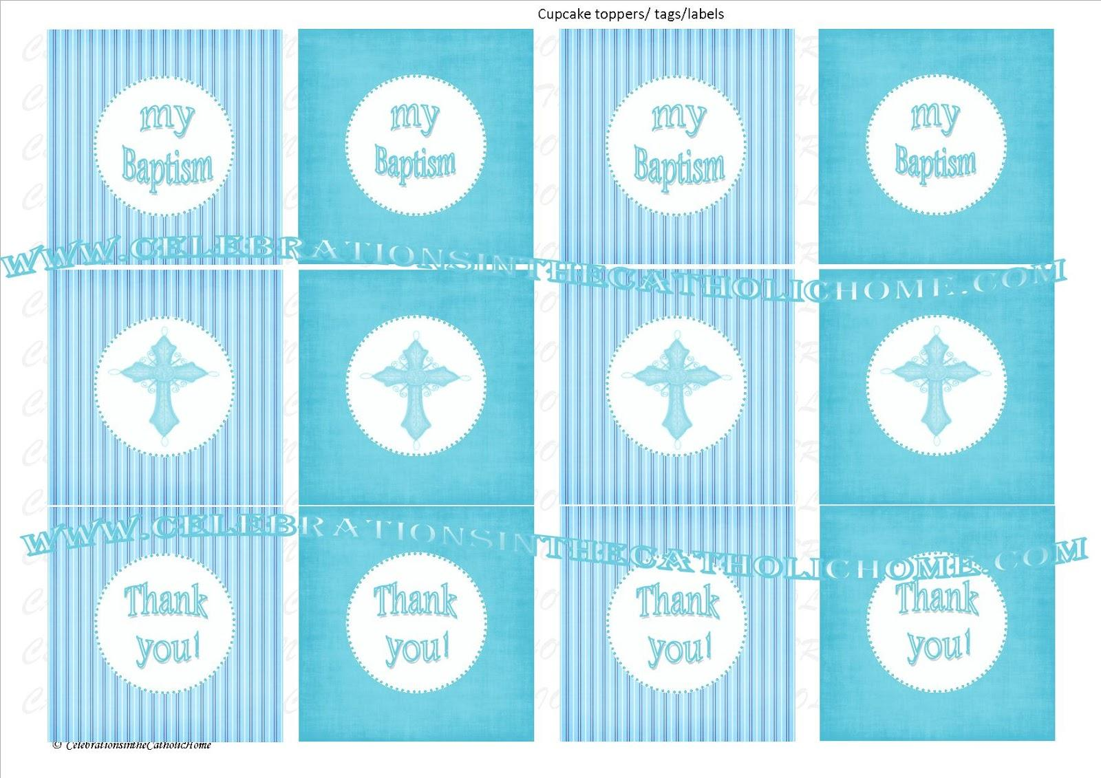 Christening Banner Template Free Download