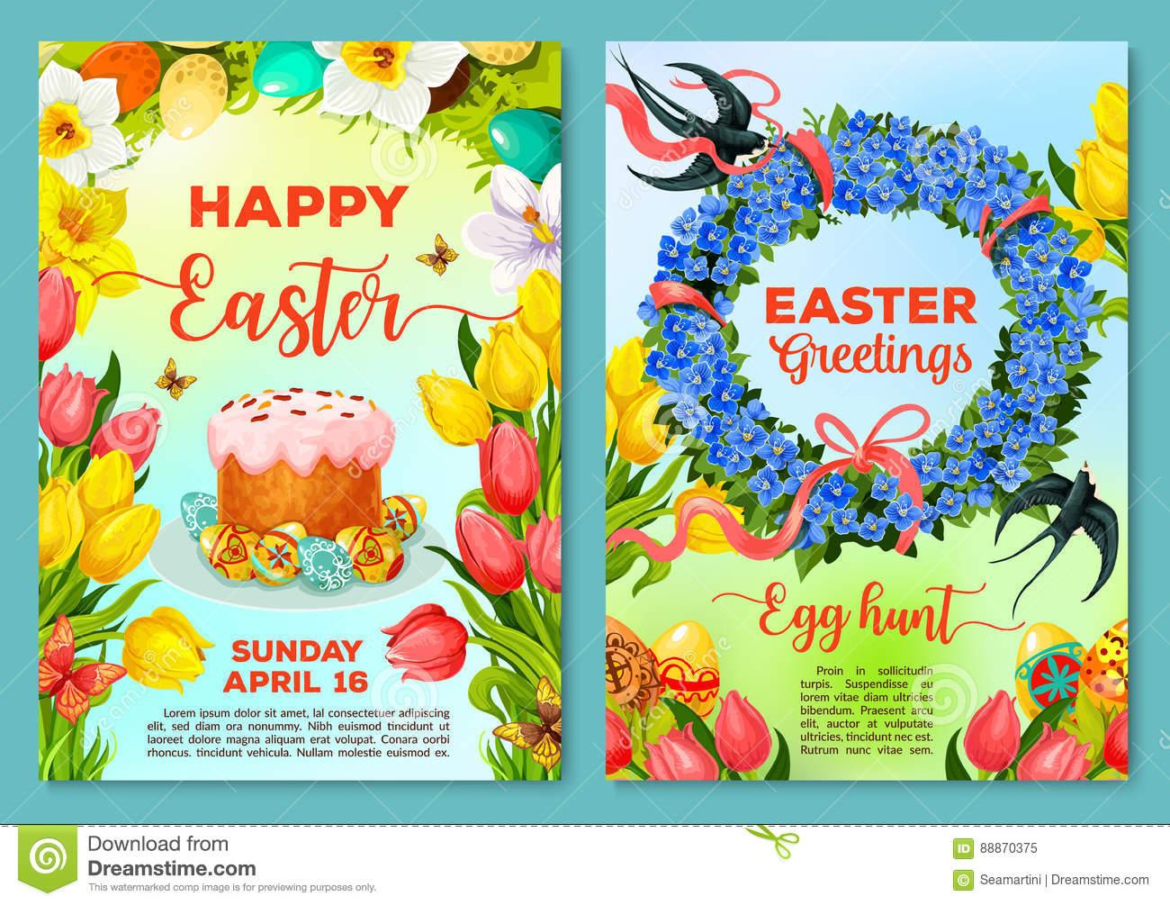 Christian Easter Invitation Template